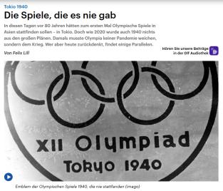 Olympia 1940 - 29.09.2020