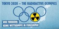 THE RADIOACTIVE OLYMPICS -Logo