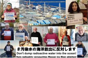 Fotomontage - Foto-Posting Fukushima